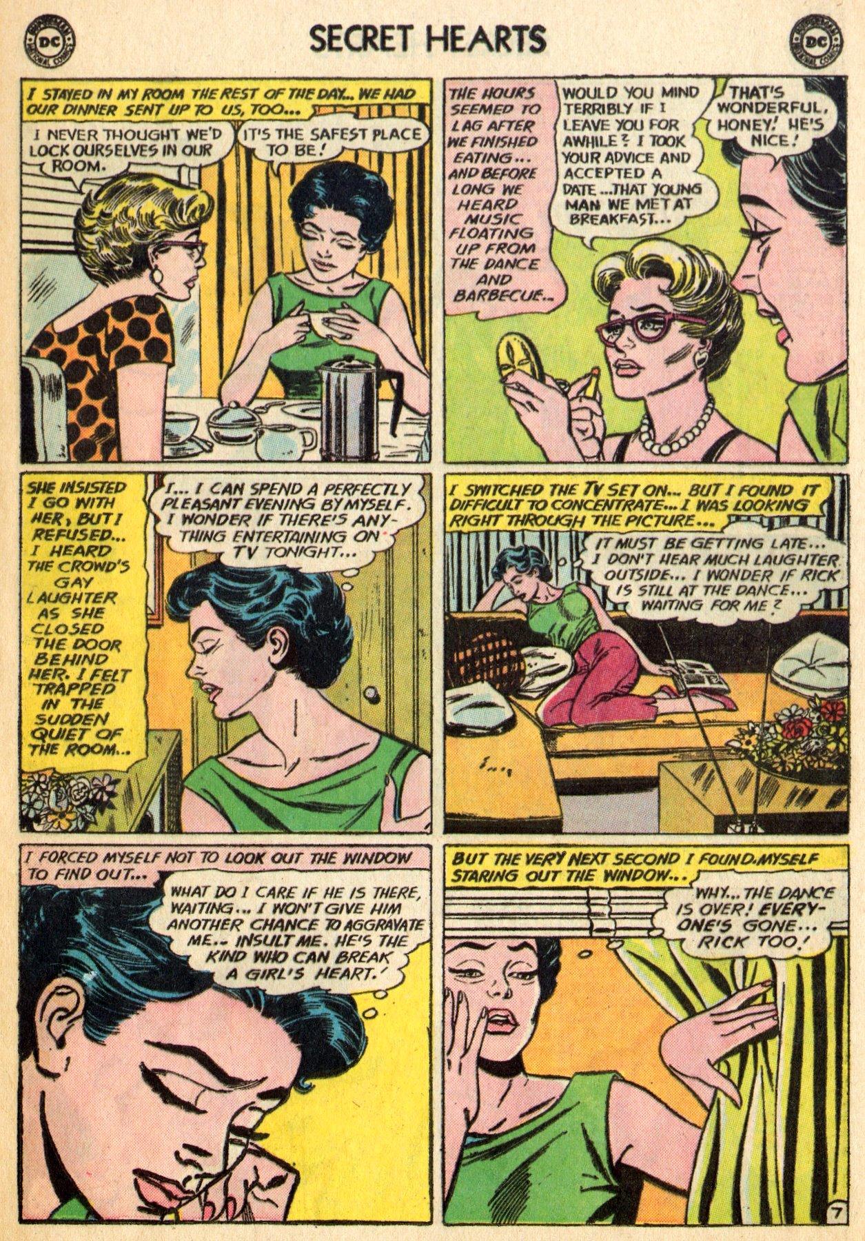 Read online Secret Hearts comic -  Issue #96 - 9