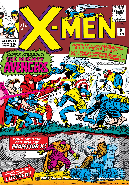 Uncanny X-Men (1963) 9 Page 1