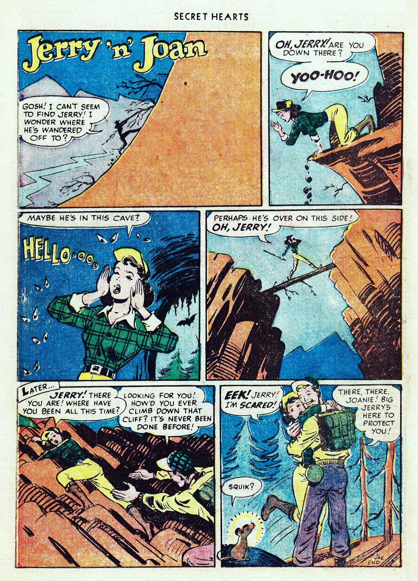 Read online Secret Hearts comic -  Issue #1 - 22