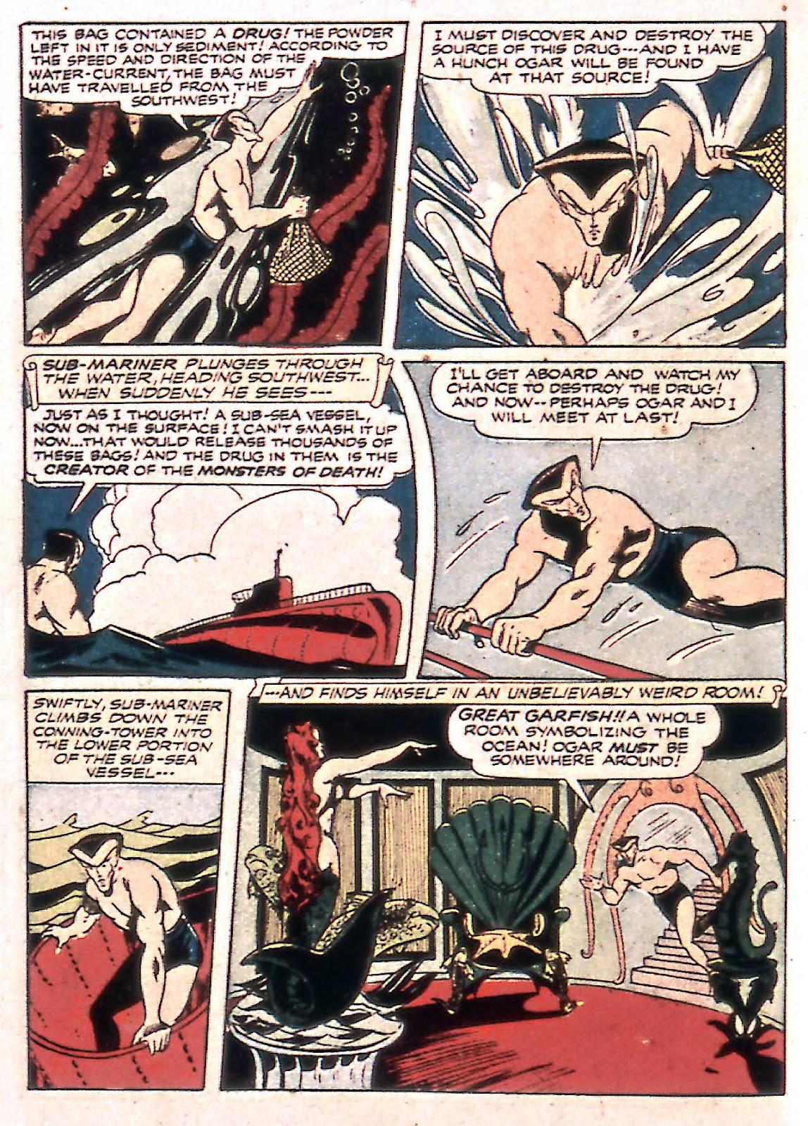Sub-Mariner Comics Issue #14 #14 - English 38