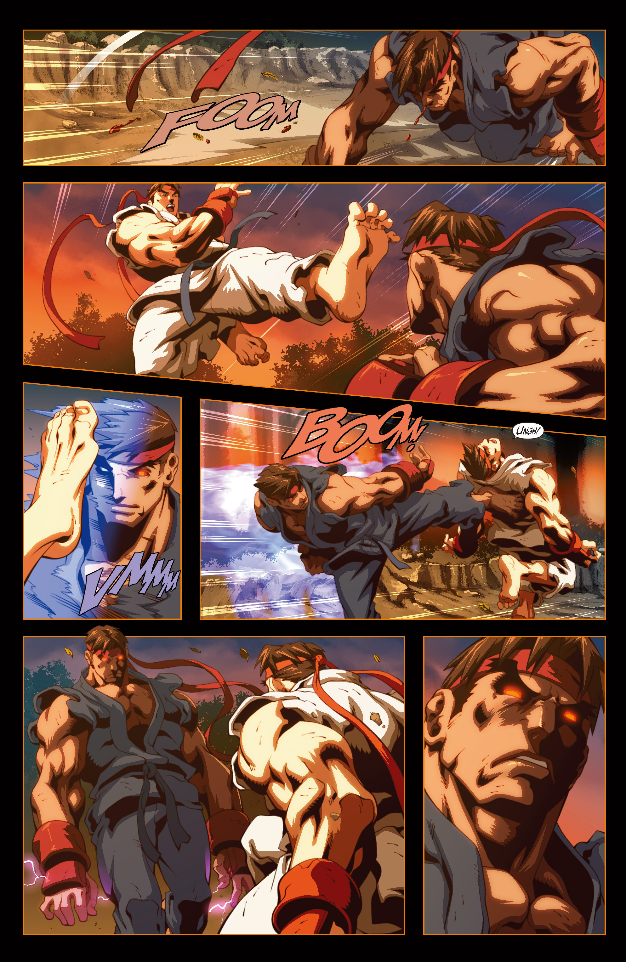 Street Fighter II chap 6 pic 19