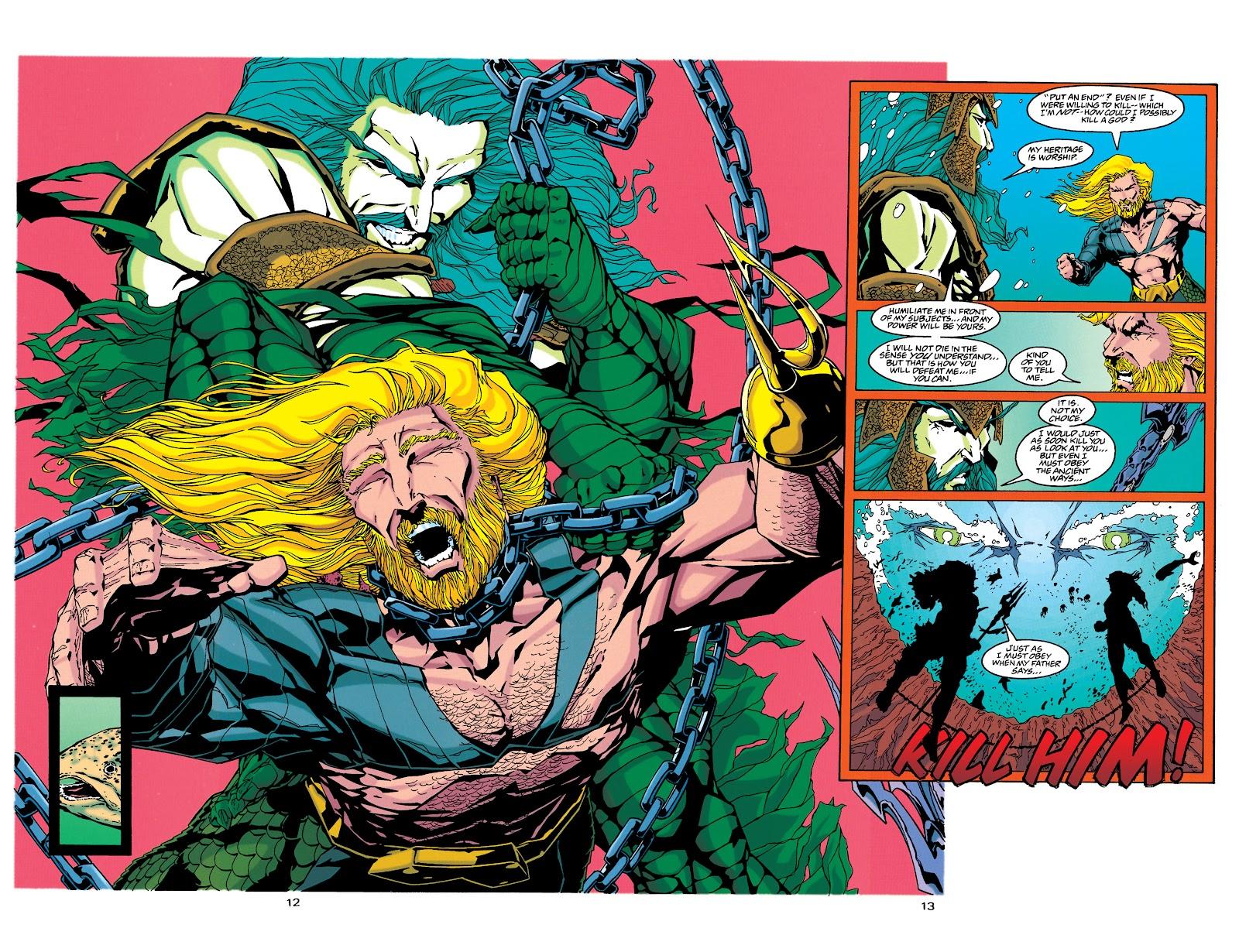 Aquaman (1994) Issue #34 #40 - English 11