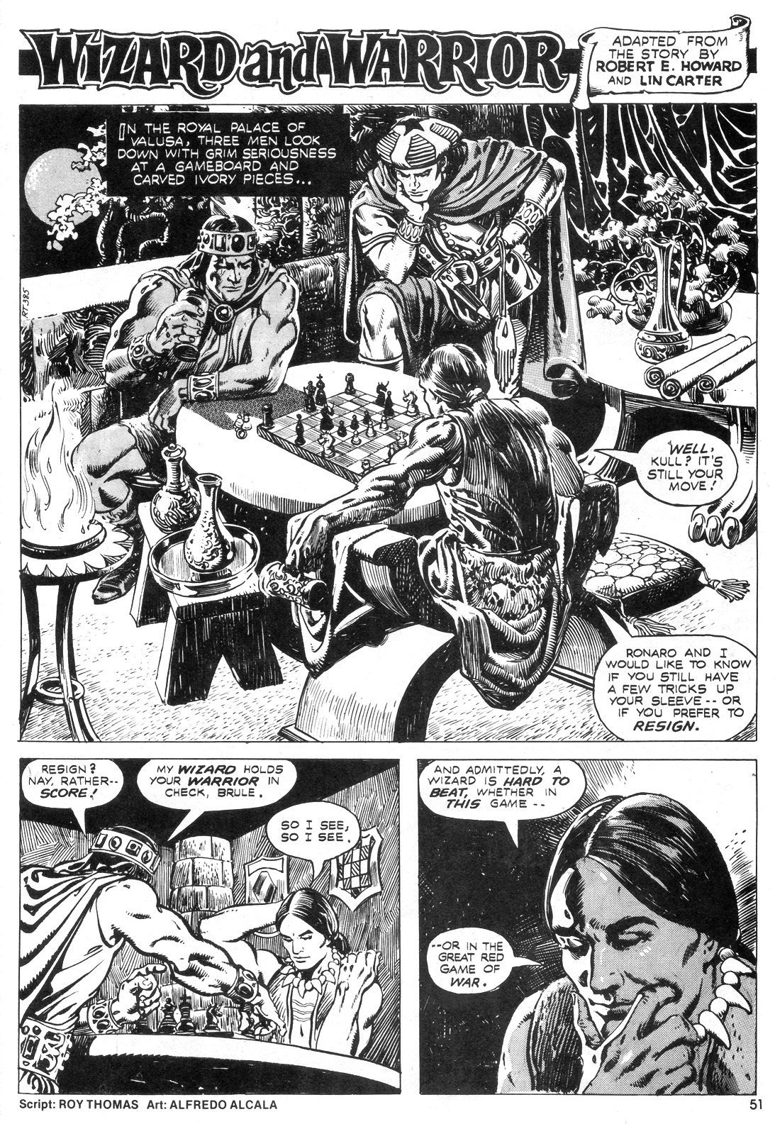 The Savage Sword Of Conan Issue #55 #56 - English 50