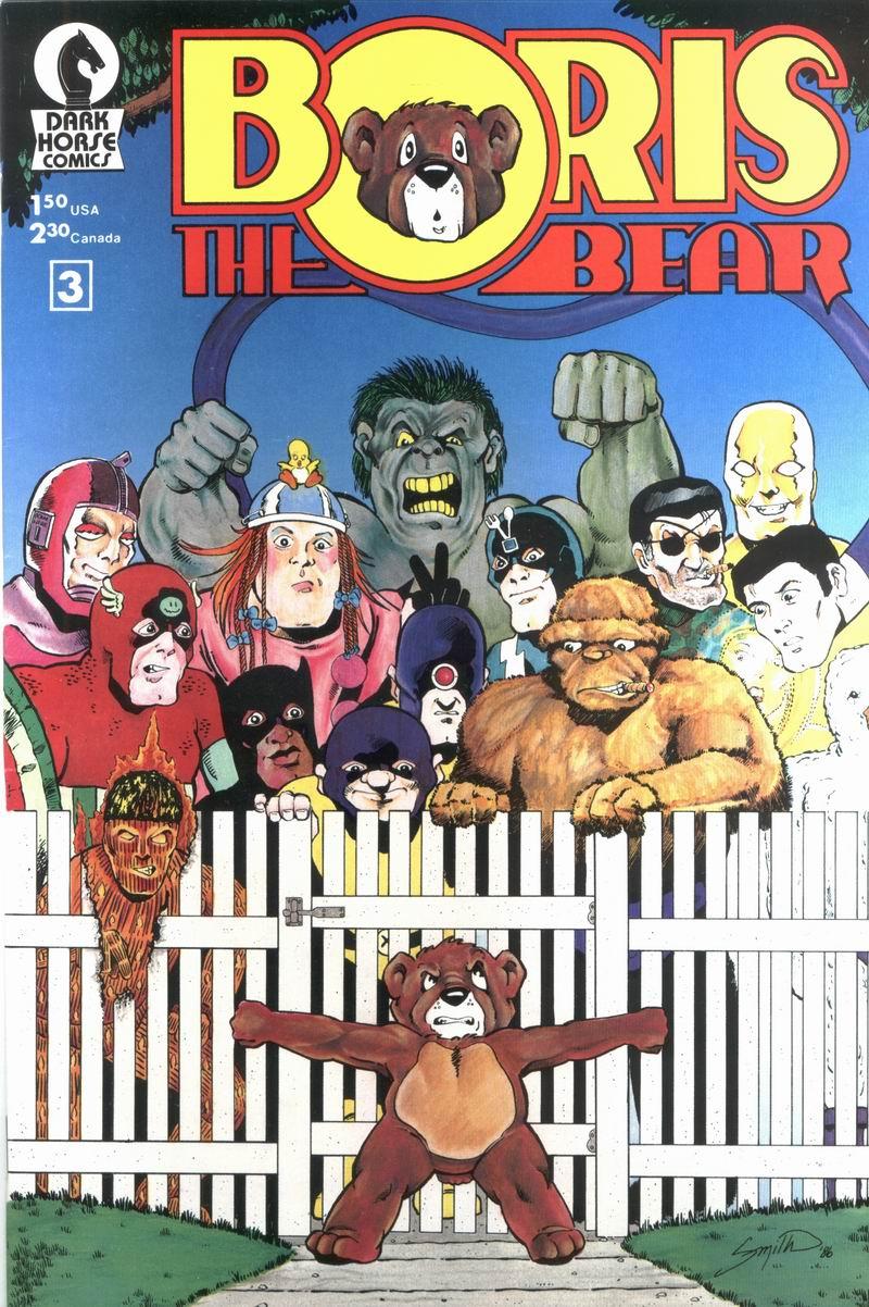 Boris The Bear 3 Page 1