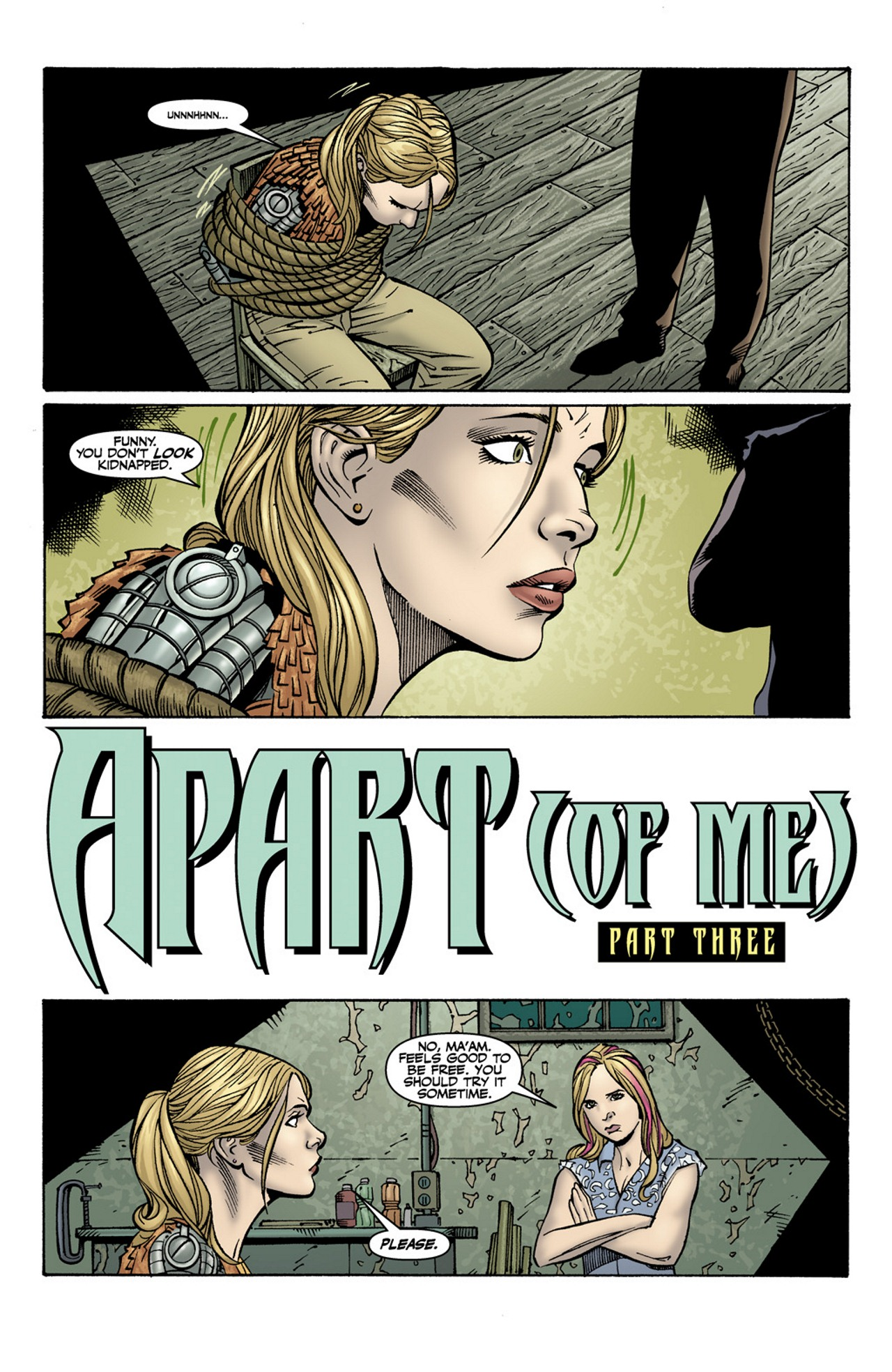 Read online Buffy the Vampire Slayer Season Nine comic -  Issue #10 - 3
