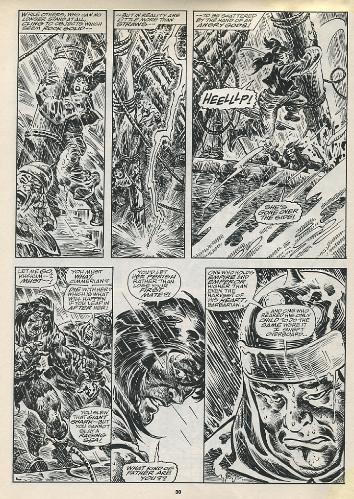 The Savage Sword Of Conan Issue #194 #195 - English 32
