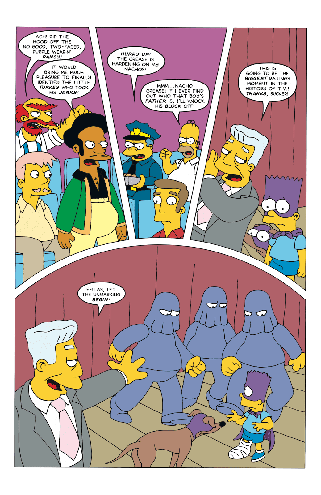 Read online Bartman comic -  Issue #6 - 18