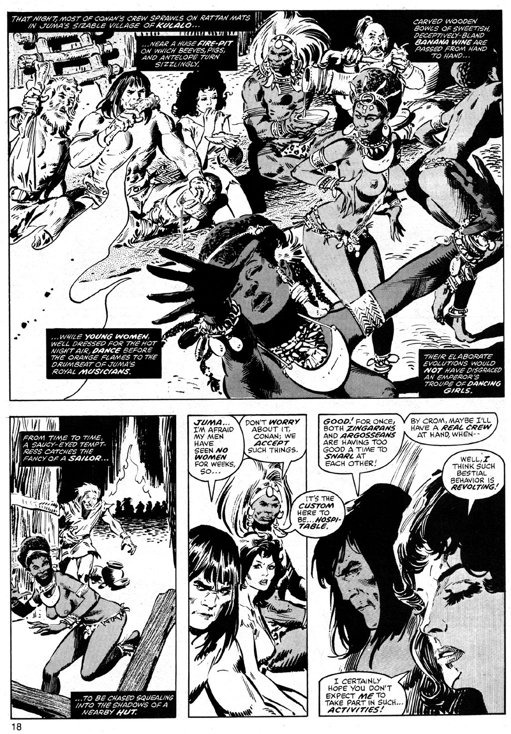 The Savage Sword Of Conan Issue #41 #42 - English 18