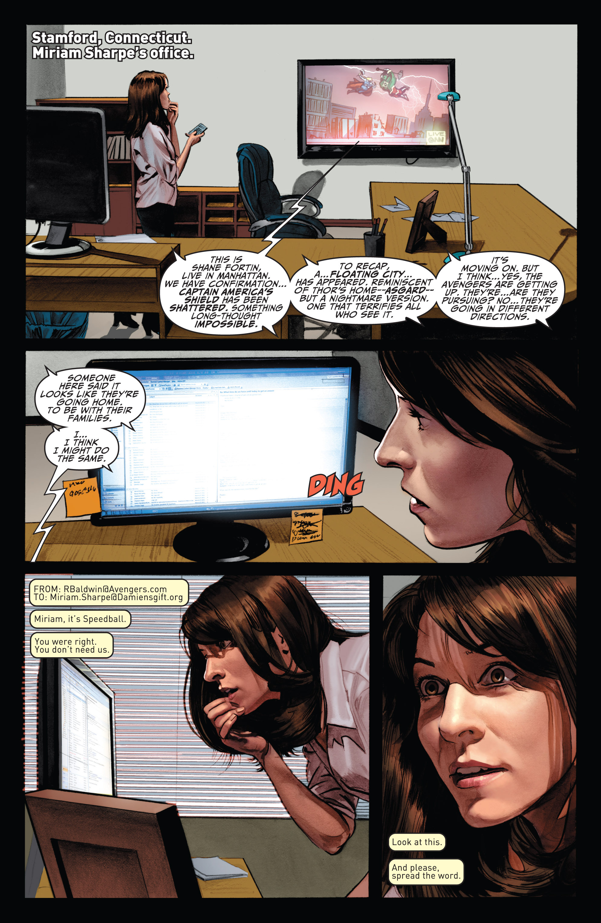 Read online Fear Itself: The Home Front comic -  Issue #5 - 9
