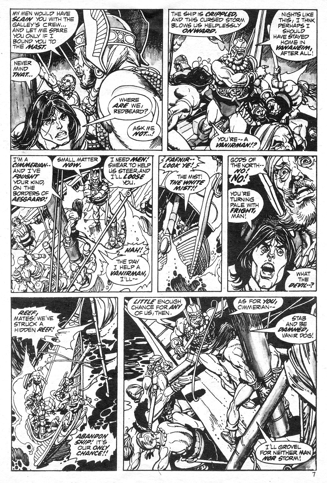 The Savage Sword Of Conan Issue #13 #14 - English 7