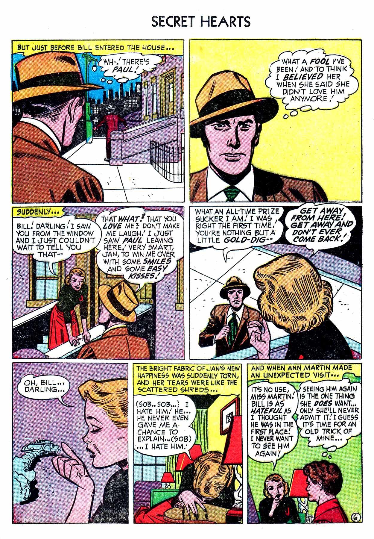 Read online Secret Hearts comic -  Issue #8 - 16