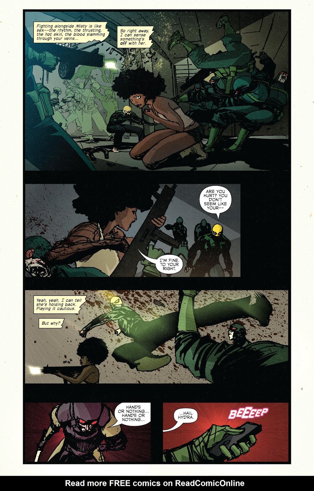 The Immortal Iron Fist Issue #27 #28 - English 16
