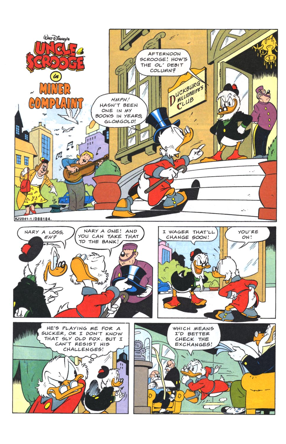 Uncle Scrooge (1953) Issue #262 #262 - English 16