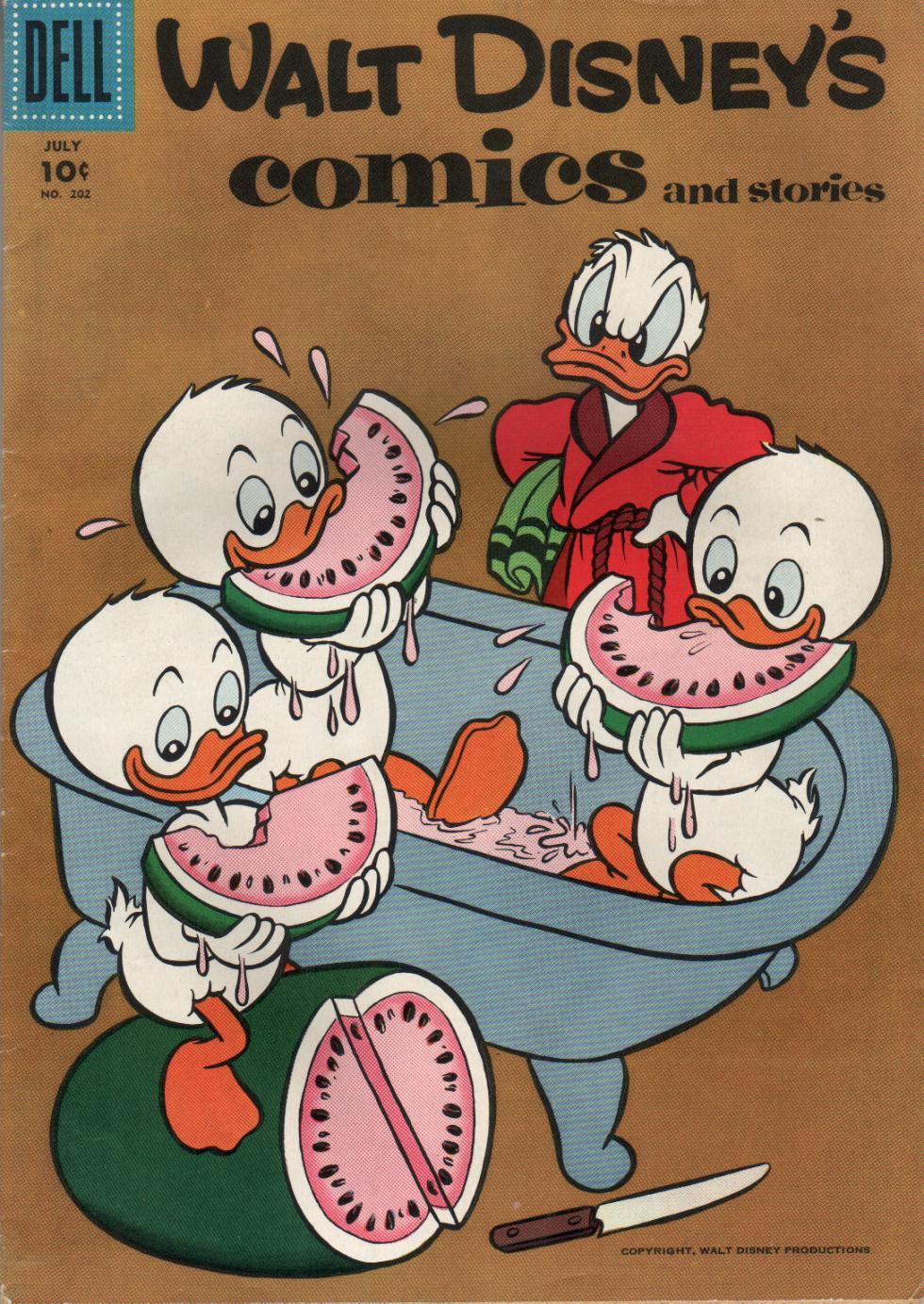 Walt Disneys Comics and Stories 202 Page 1