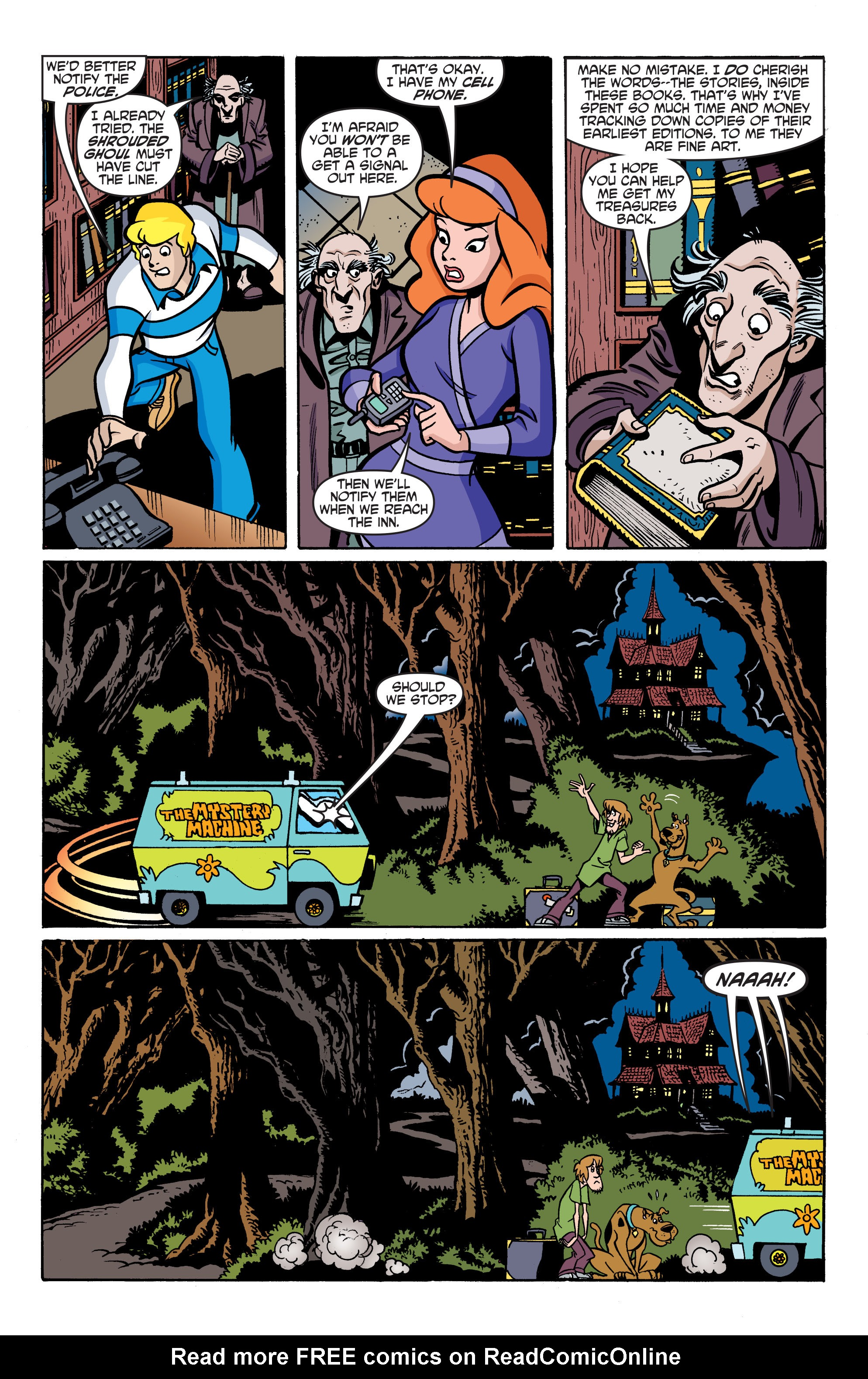 Read online Scooby-Doo: Where Are You? comic -  Issue #76 - 16