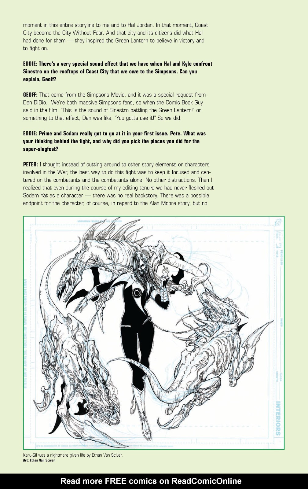 Green Lantern: The Sinestro Corps War Full #1 - English 310