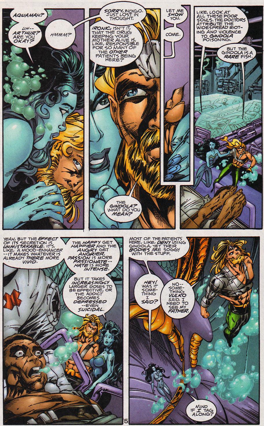 Aquaman (1994) Issue #59 #65 - English 6