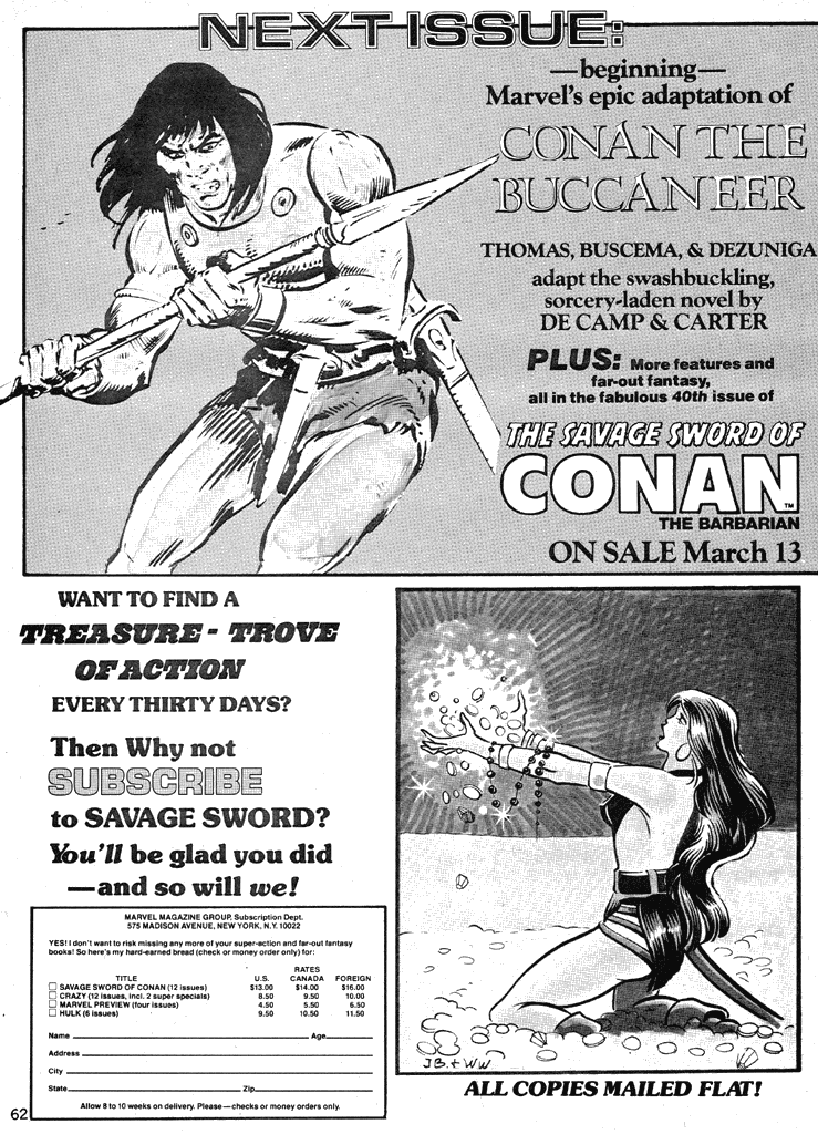 The Savage Sword Of Conan Issue #39 #40 - English 61