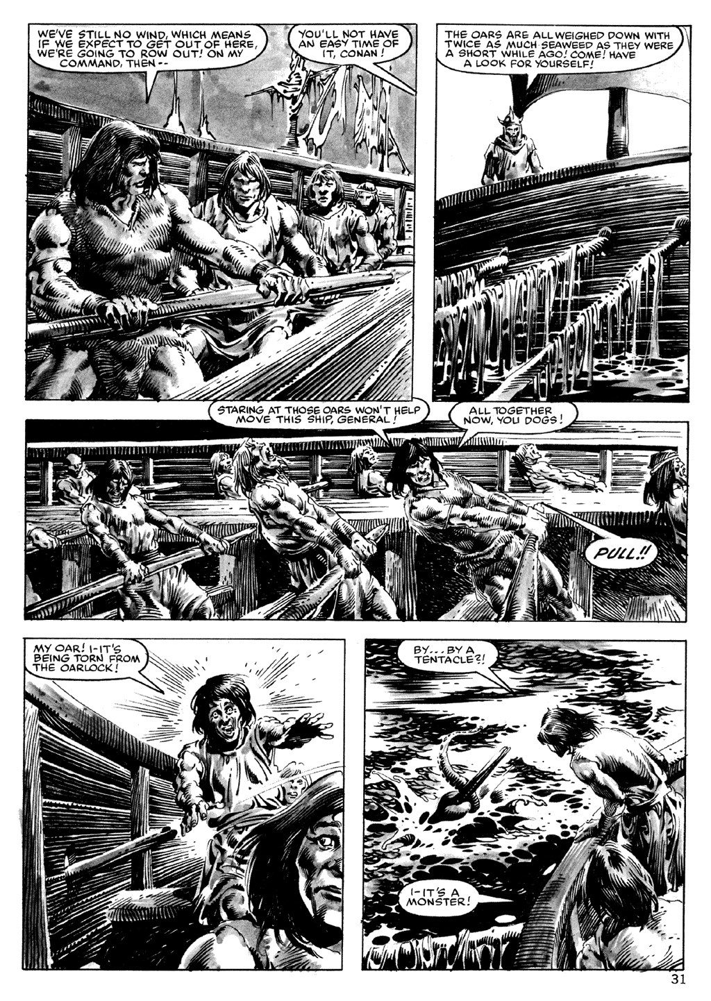 The Savage Sword Of Conan Issue #101 #102 - English 31