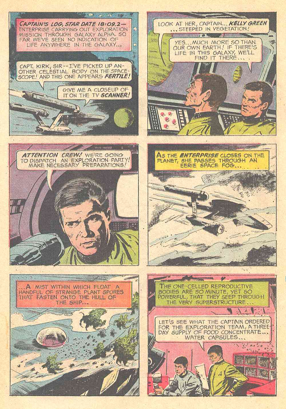 Star Trek (1967) Issue #1 #1 - English 4