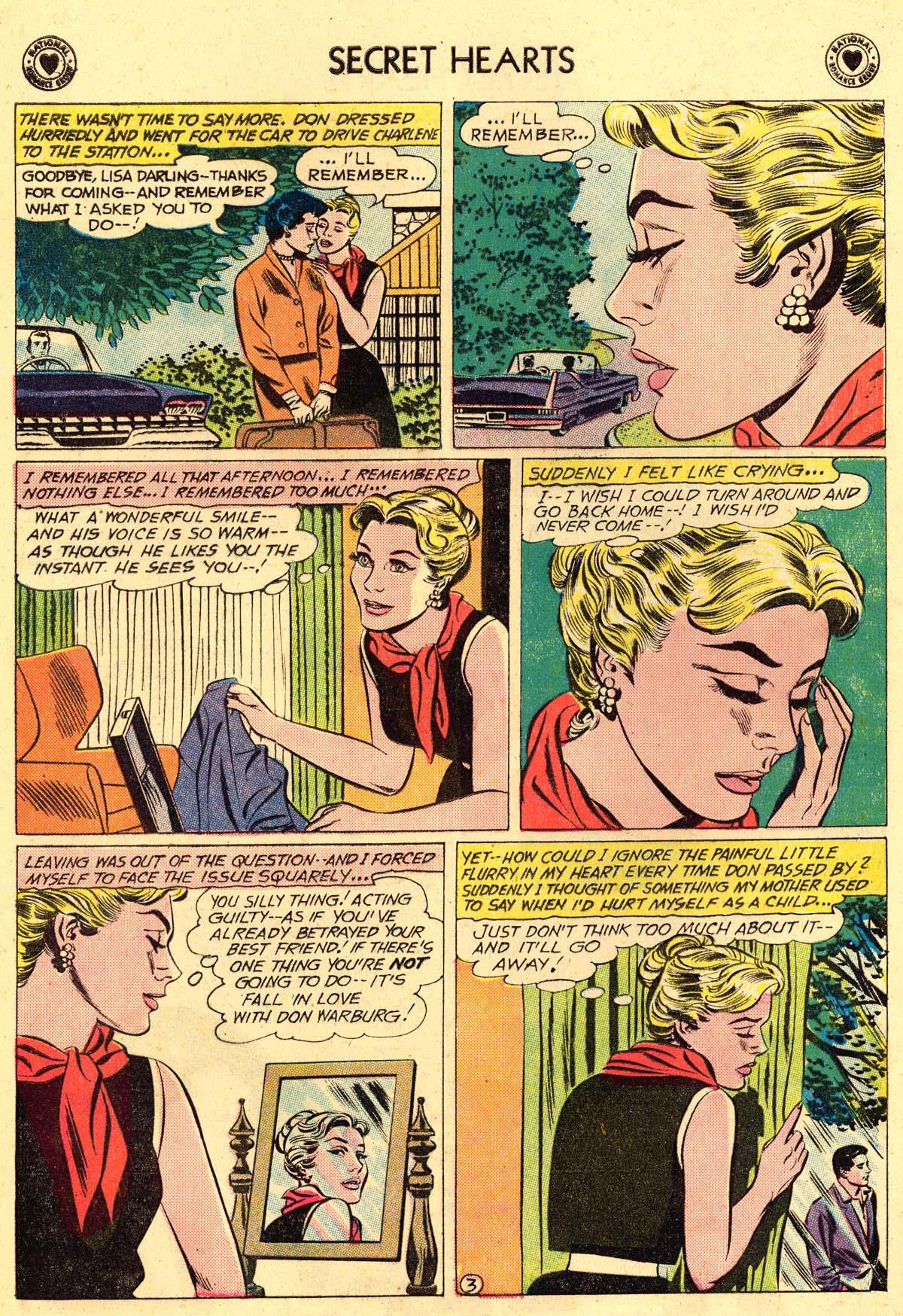 Read online Secret Hearts comic -  Issue #62 - 12