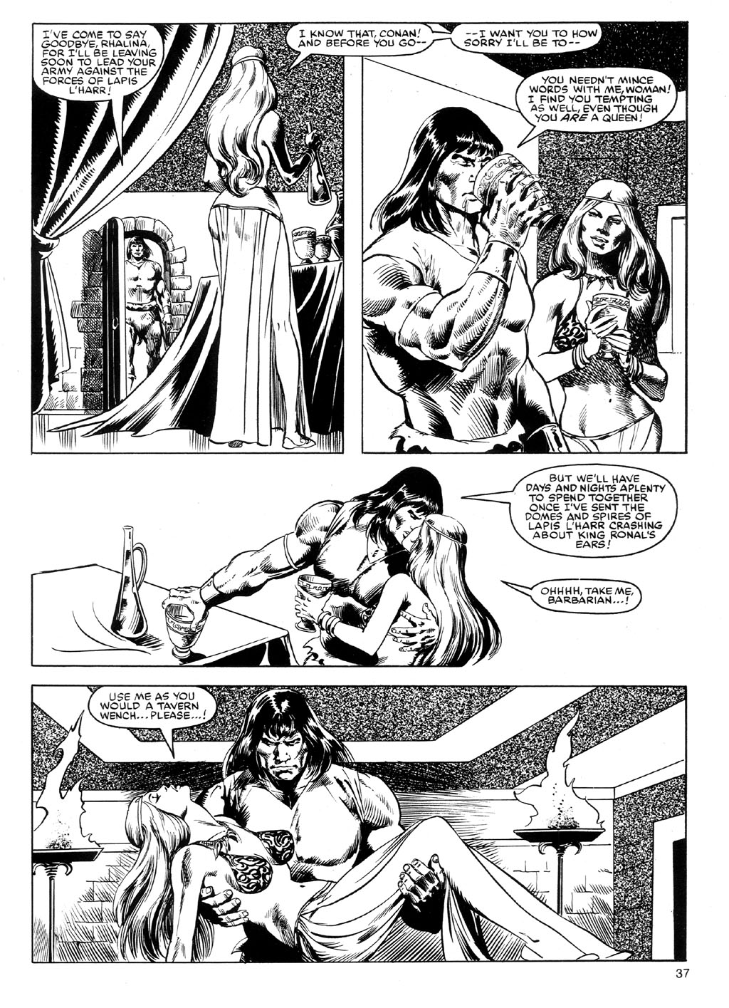 The Savage Sword Of Conan Issue #91 #92 - English 36