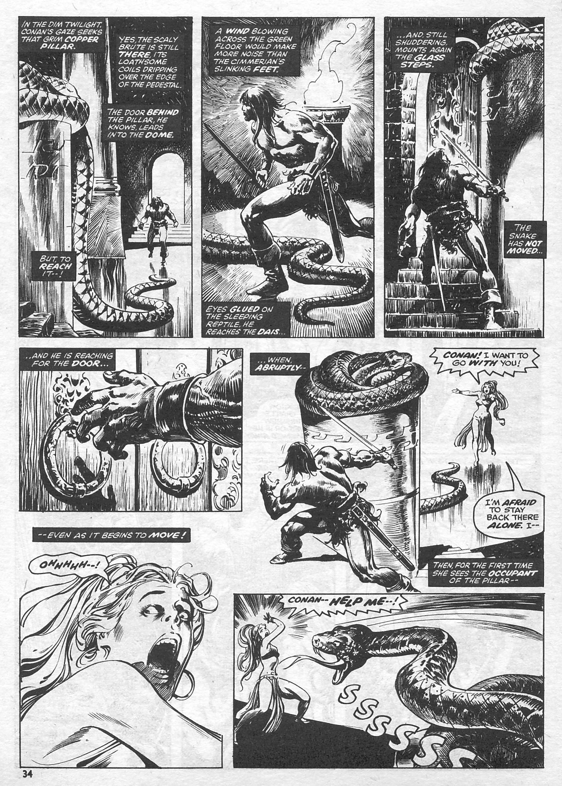 The Savage Sword Of Conan Issue #15 #16 - English 34