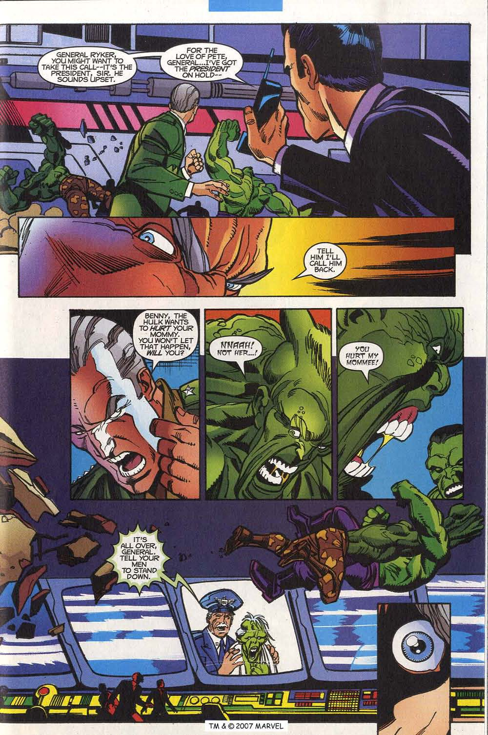 Read online The Incredible Hulk (2000) comic -  Issue #20 - 27