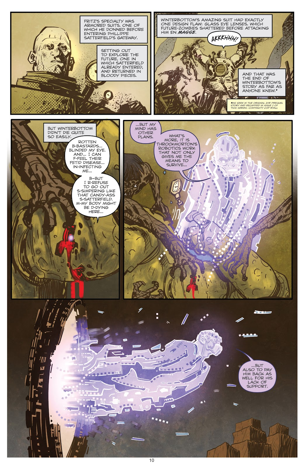 Zombies vs Robots (2015) Issue #3 Page 11