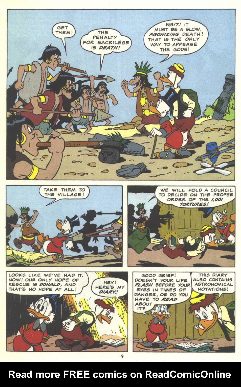 Uncle Scrooge (1953) Issue #259 #259 - English 10