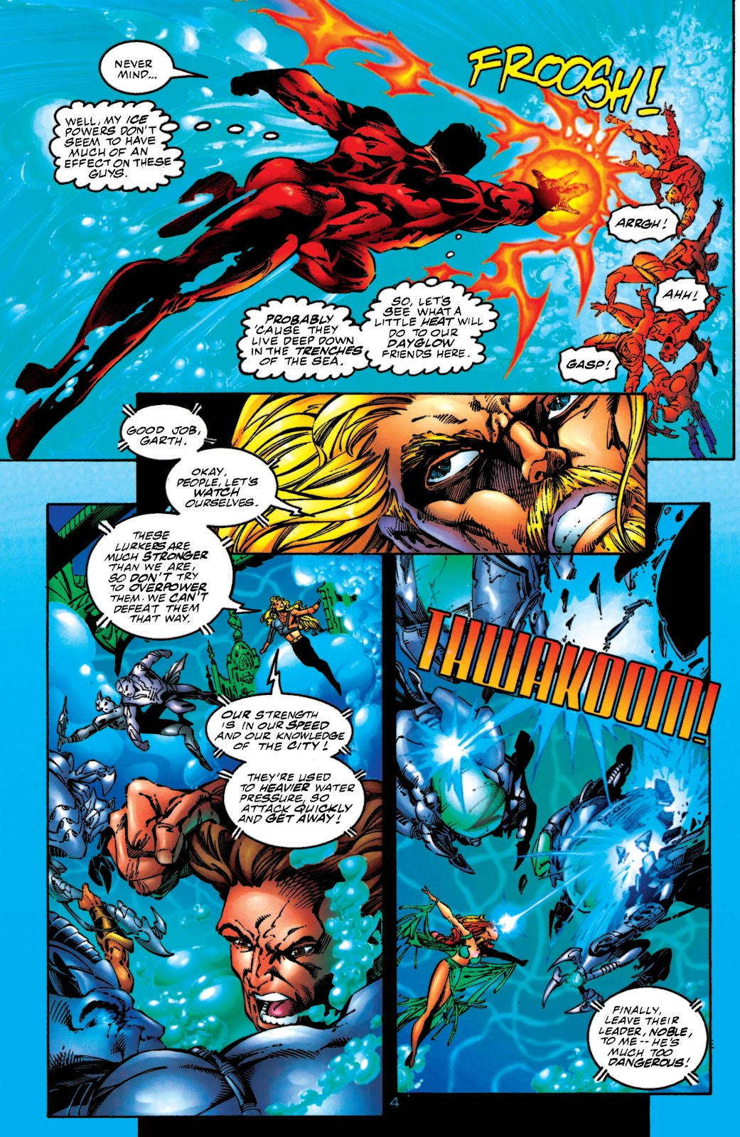 Aquaman (1994) Issue #51 #57 - English 4