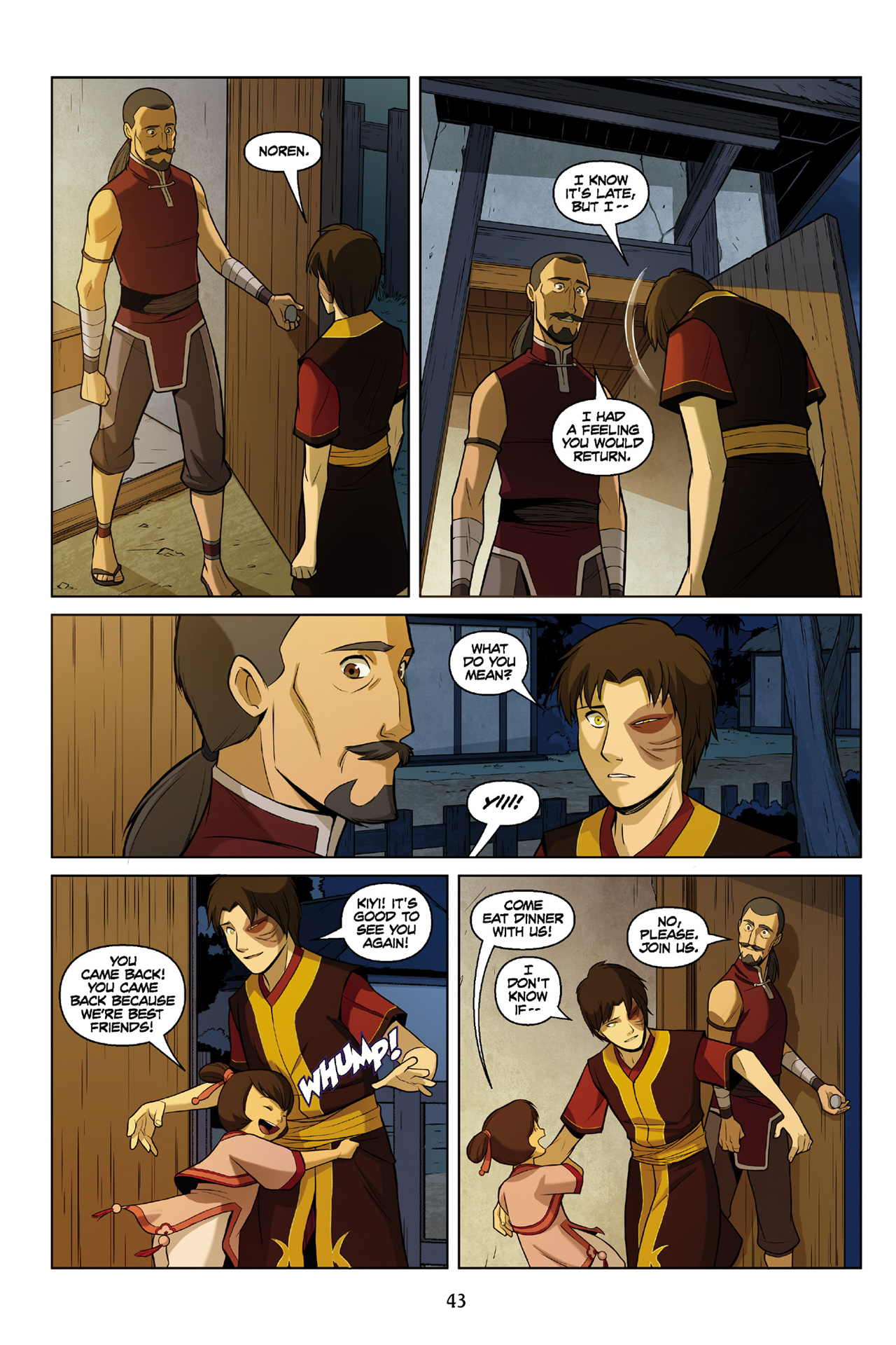 Read online Nickelodeon Avatar: The Last Airbender - The Search comic -  Issue # Part 3 - 44