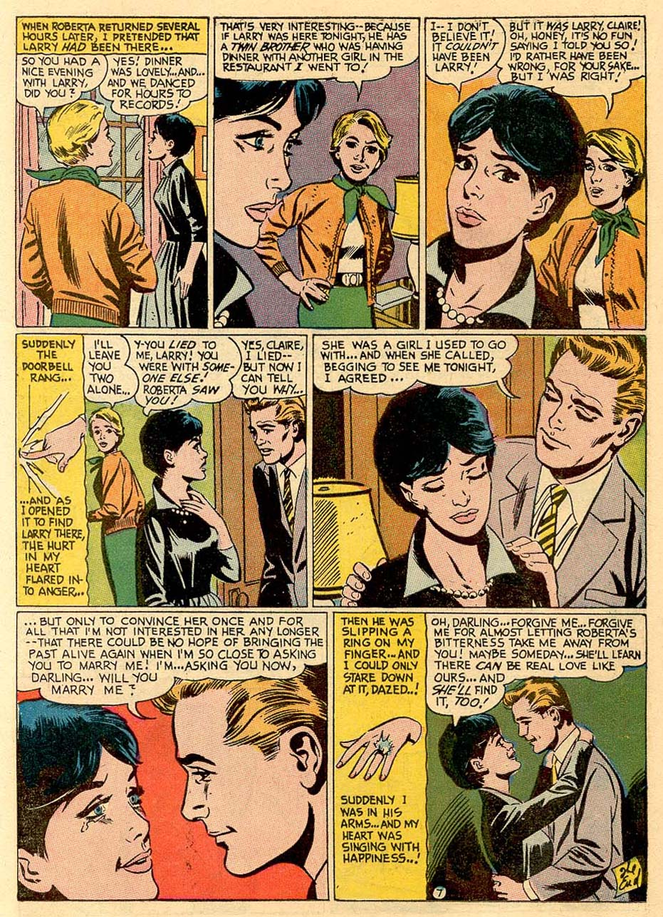 Read online Secret Hearts comic -  Issue #122 - 17