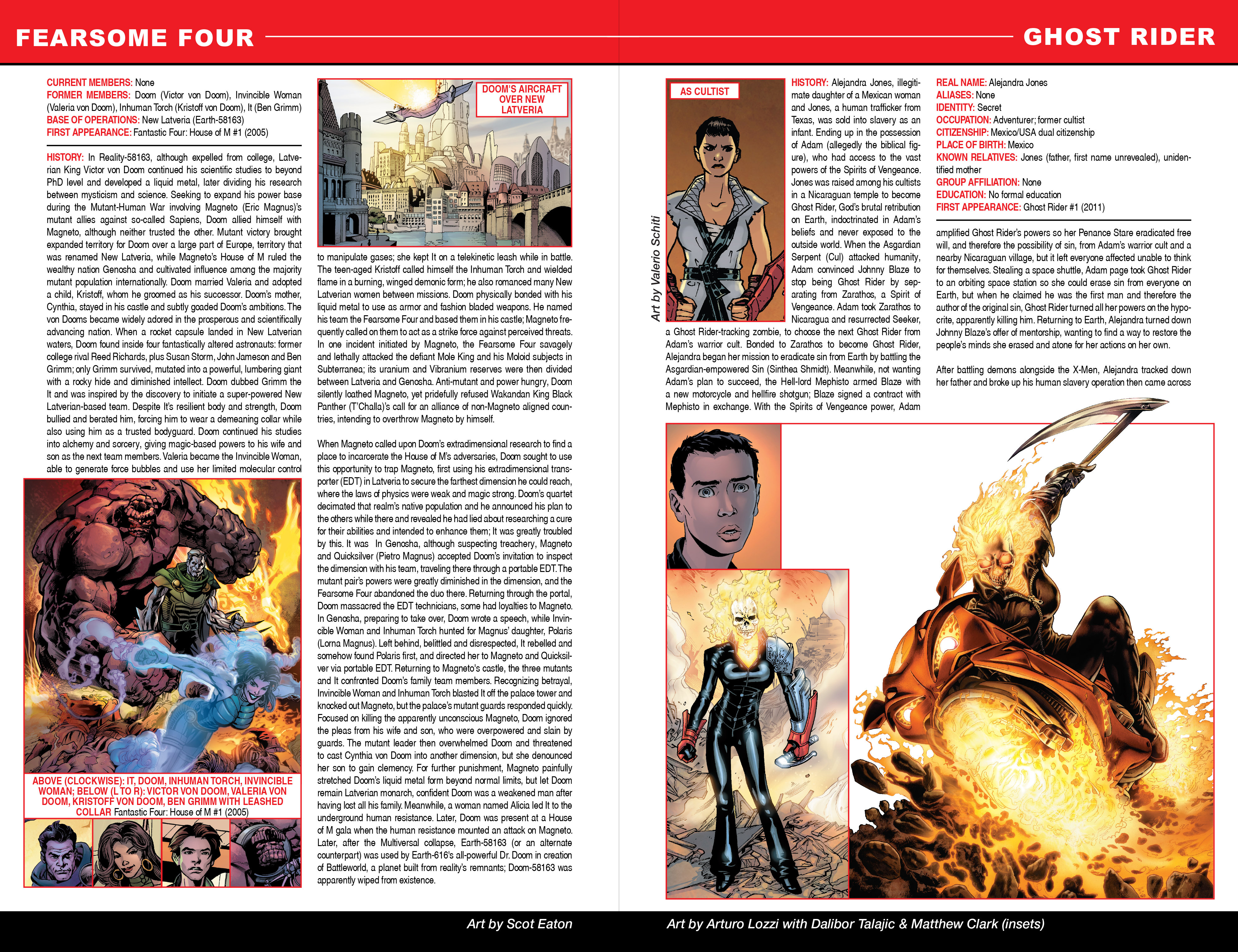 Read online Secret Wars: Official Guide to the Marvel Multiverse comic -  Issue # Full - 8