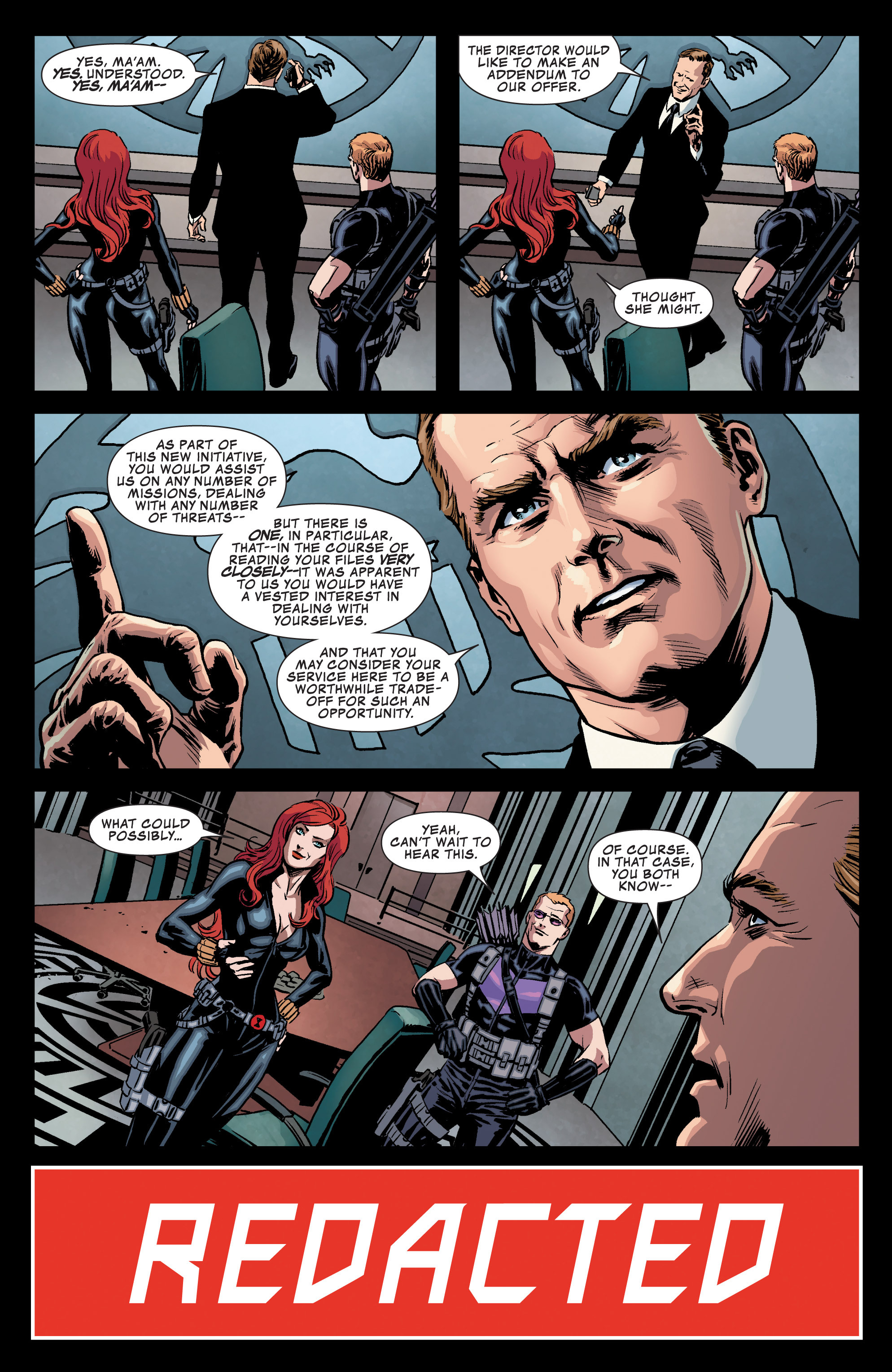 Read online Secret Avengers (2013) comic -  Issue #1 - 12