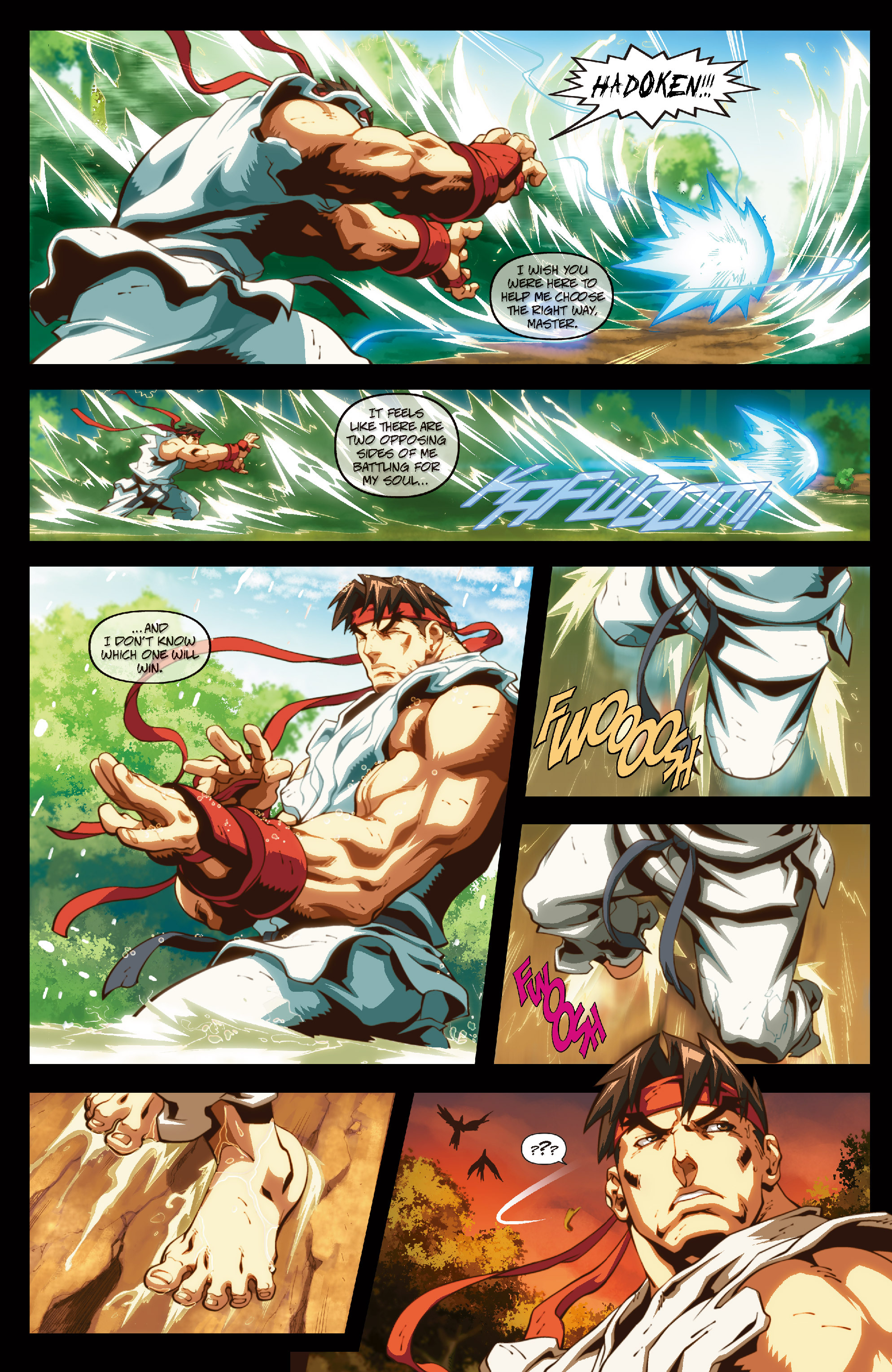 Street Fighter II chap 6 pic 6