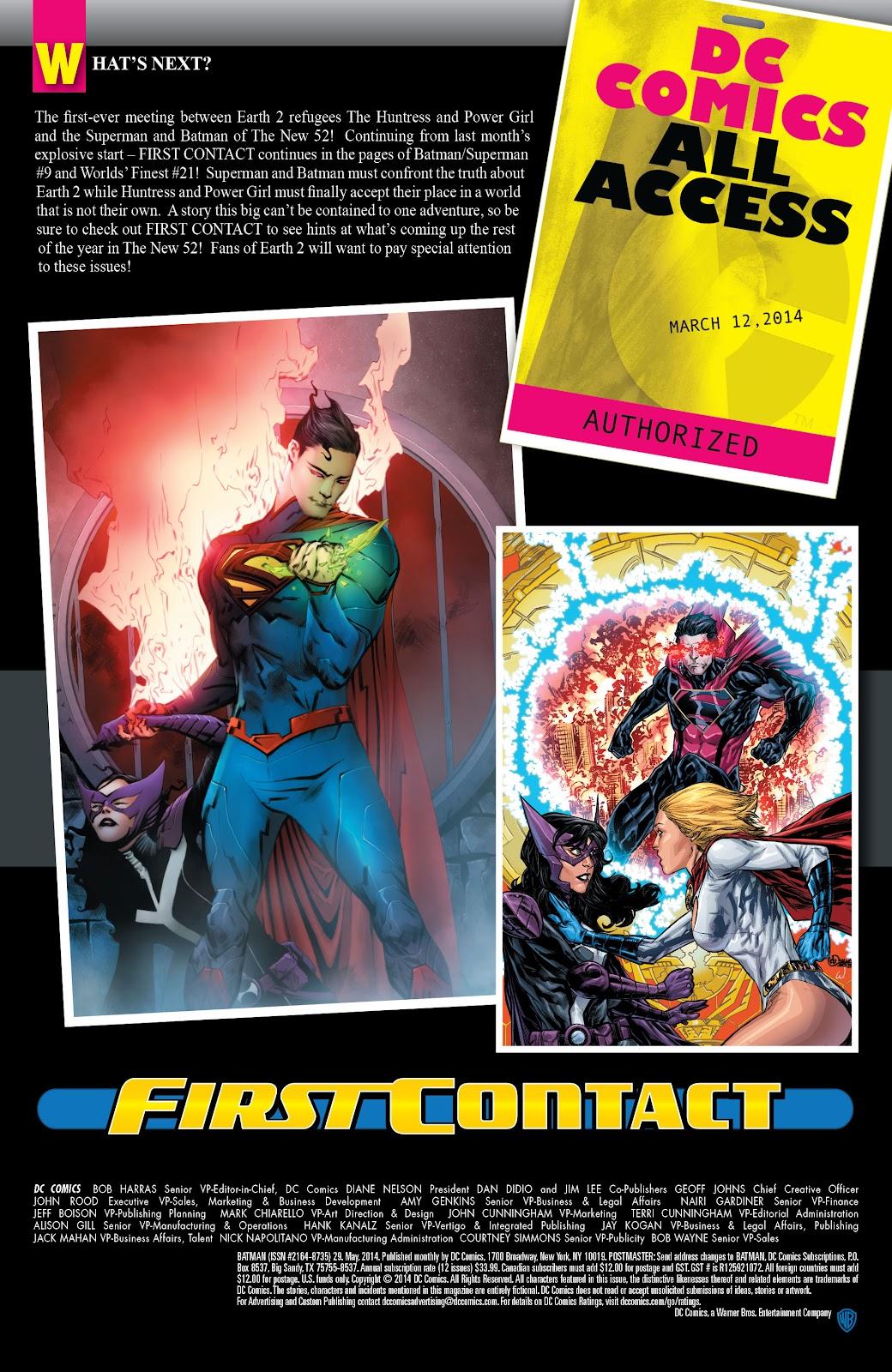 Batman (2011) Issue #29 #48 - English 43