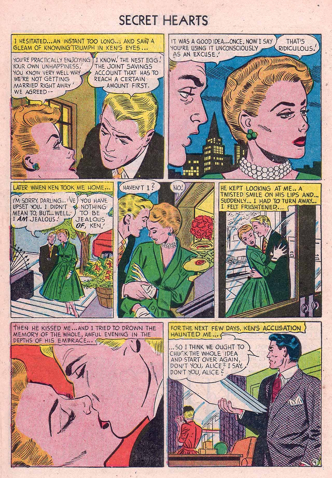 Read online Secret Hearts comic -  Issue #12 - 30