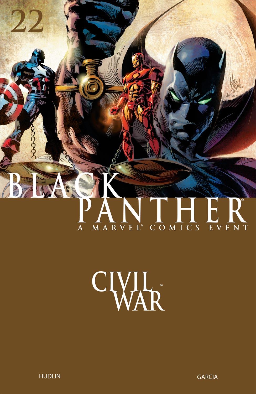 Black Panther (2005) 22 Page 1