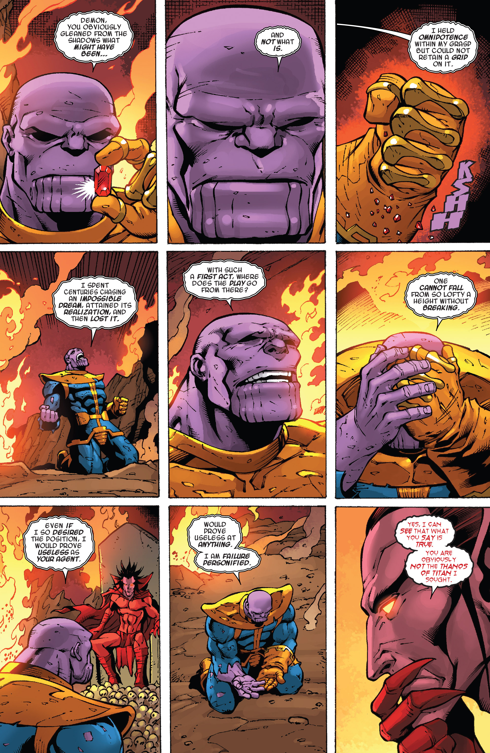 Read online Thanos Annual comic -  Issue # Annual - 10