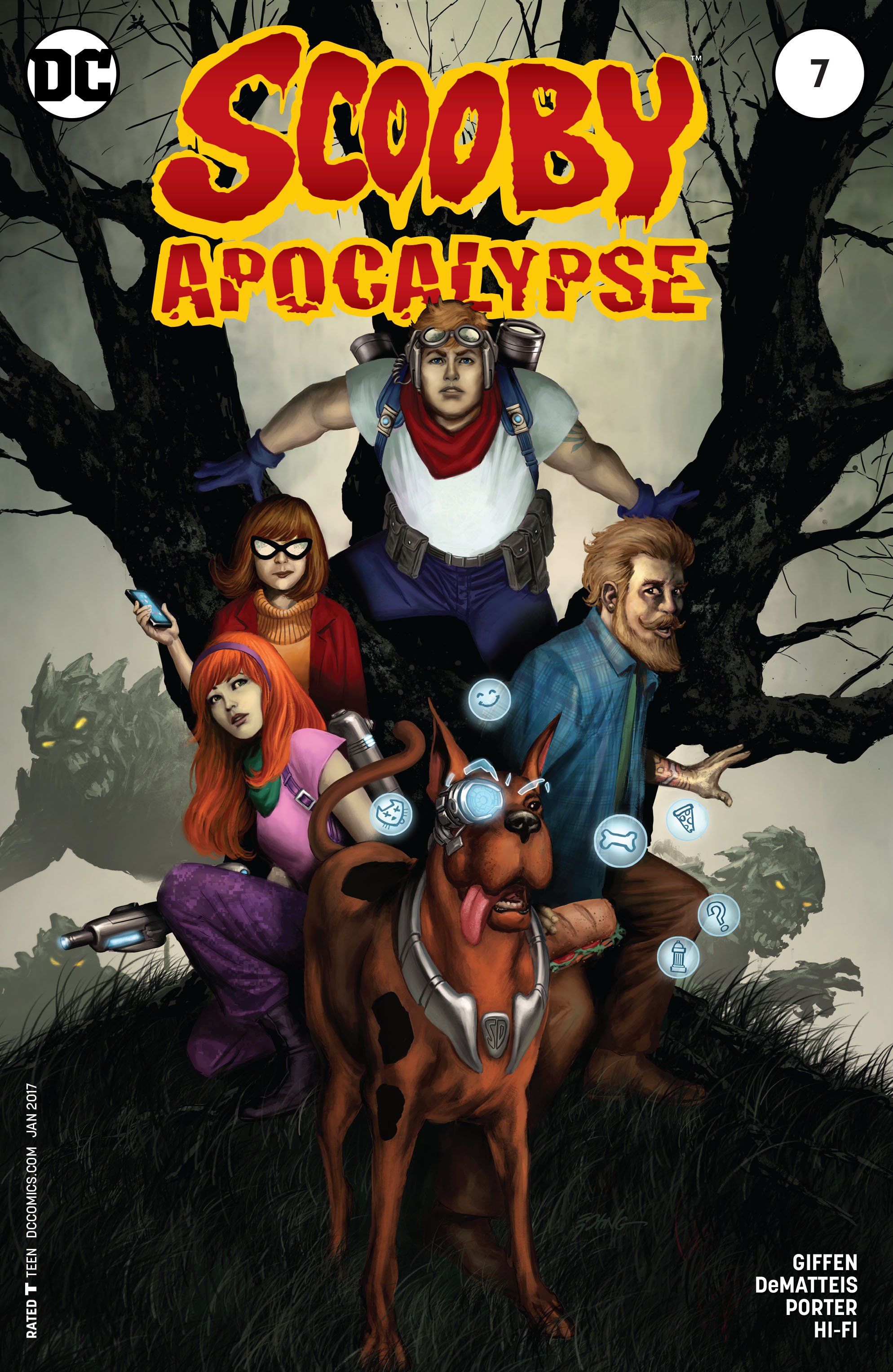 Read online Scooby Apocalypse comic -  Issue #7 - 3