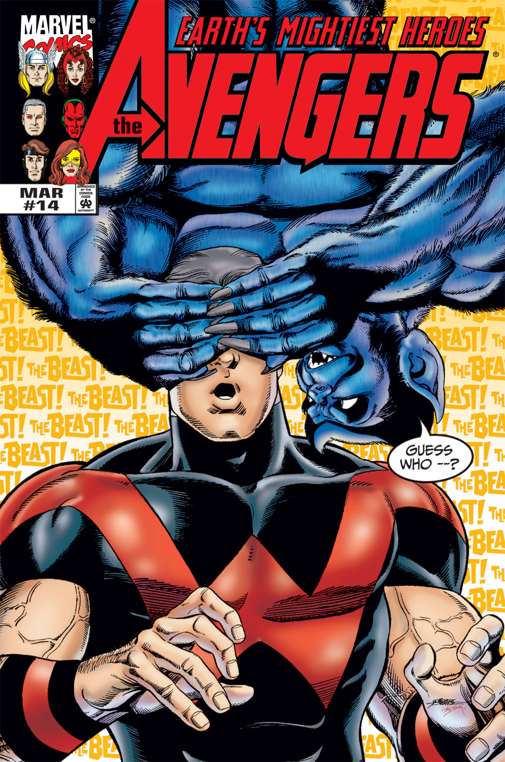 Avengers (1998) 14 Page 1