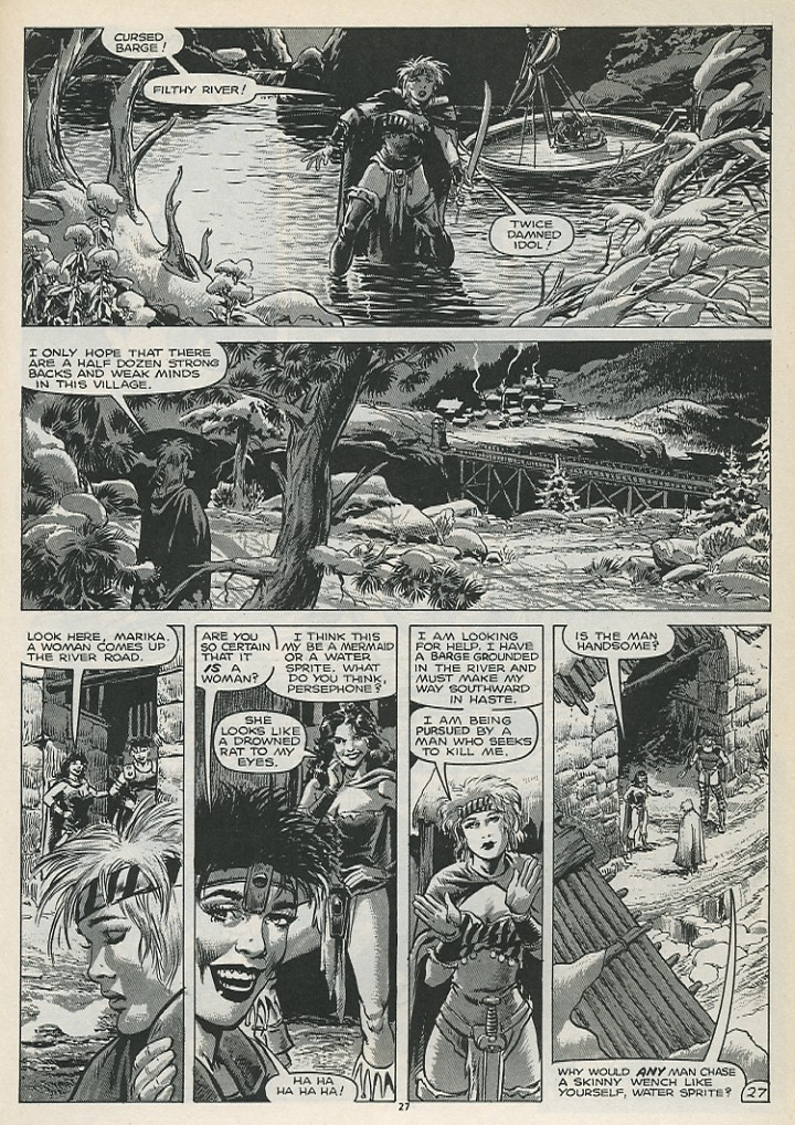 The Savage Sword Of Conan Issue #179 #180 - English 29