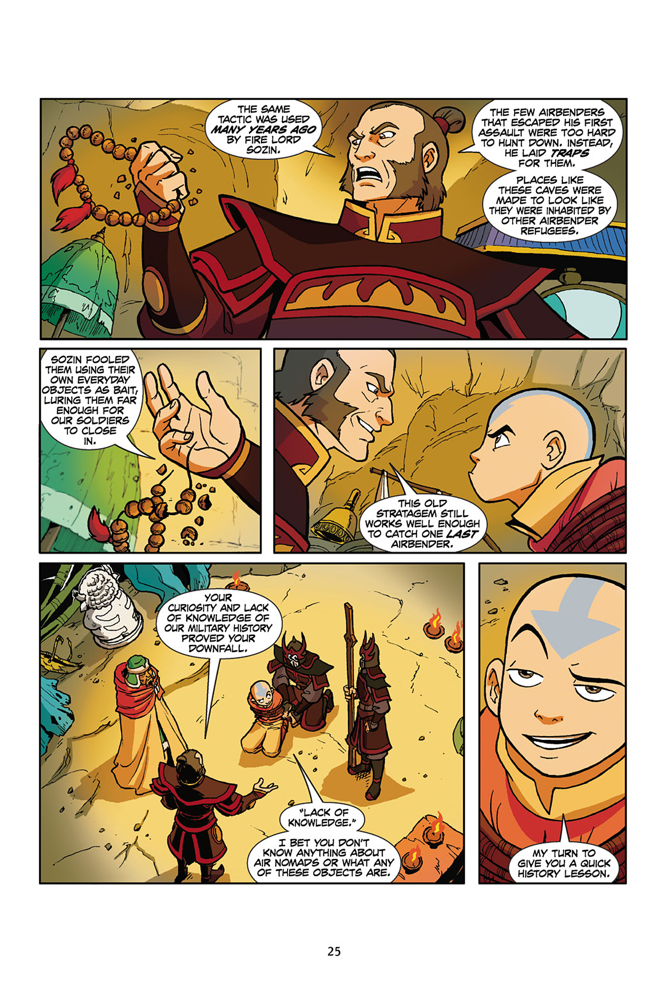 Nickelodeon Avatar: The Last Airbender - The Lost Adventures chap full pic 26