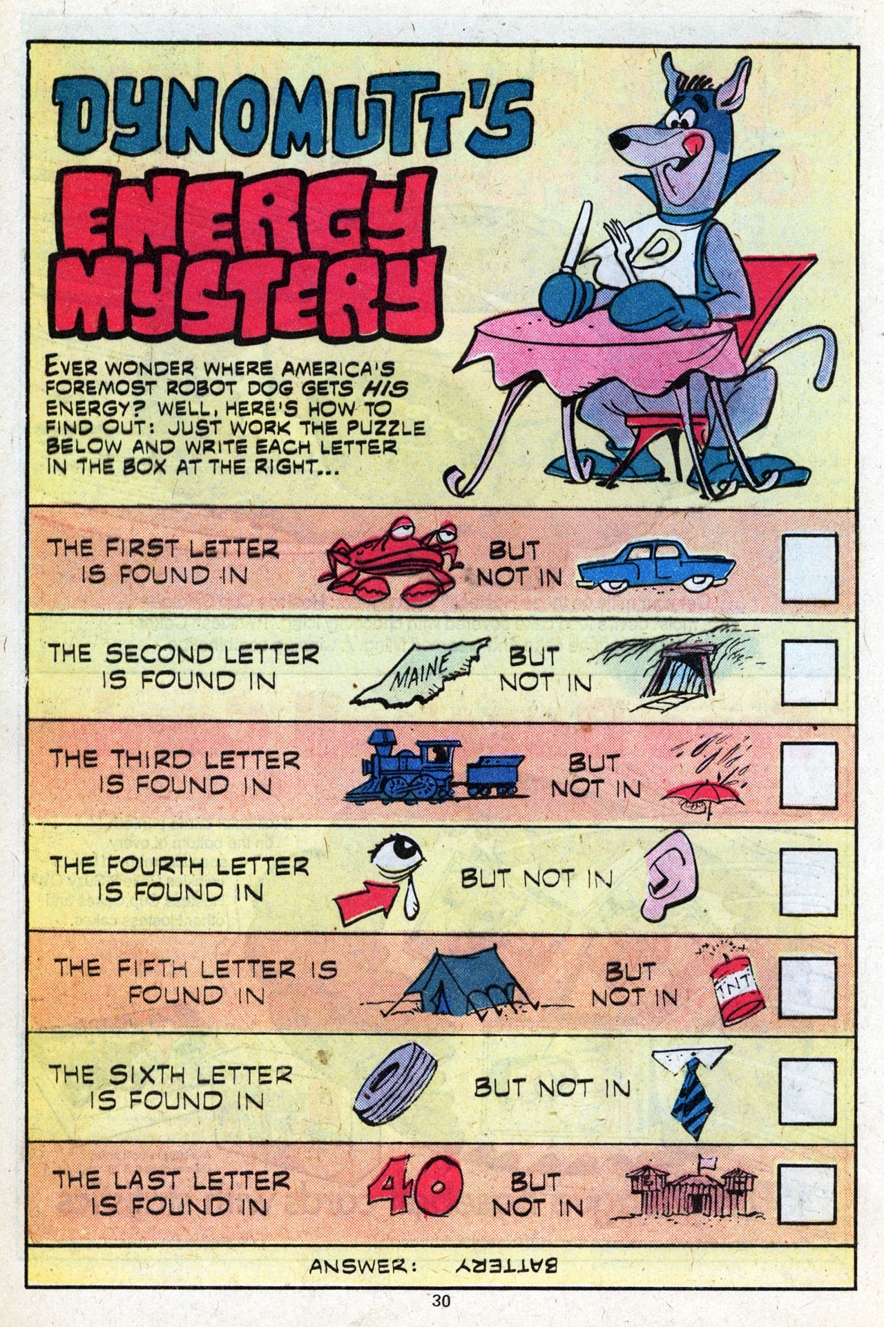 Read online Scooby-Doo (1977) comic -  Issue #7 - 32