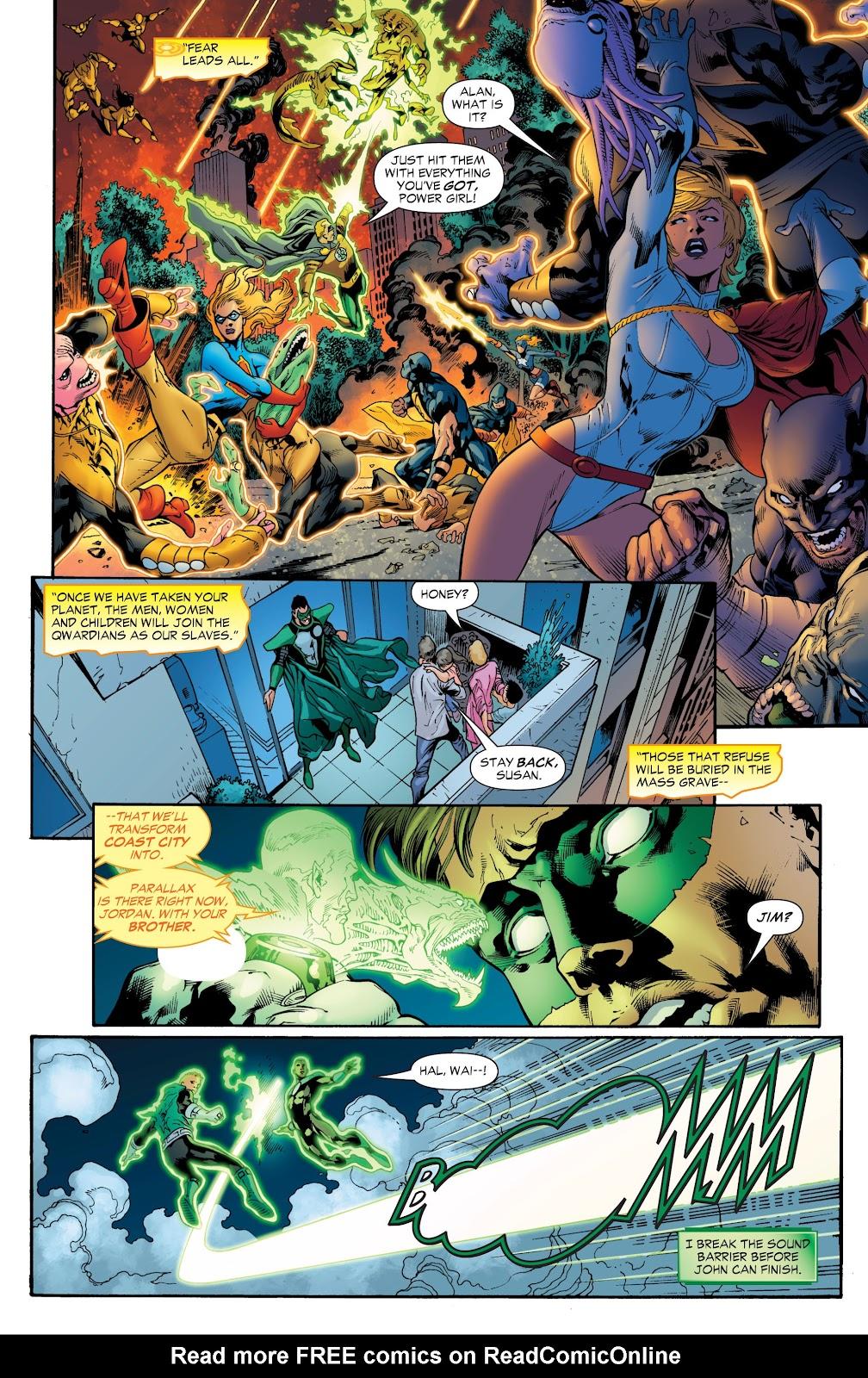 Green Lantern: The Sinestro Corps War Full #1 - English 186