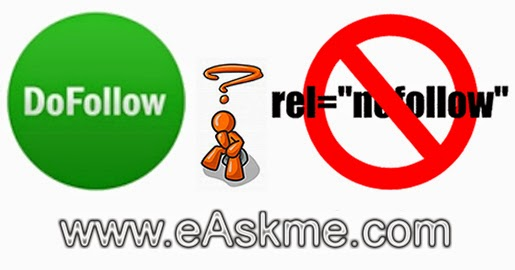 What are Dofollow Nofollow Link SEO Basics : eAskme