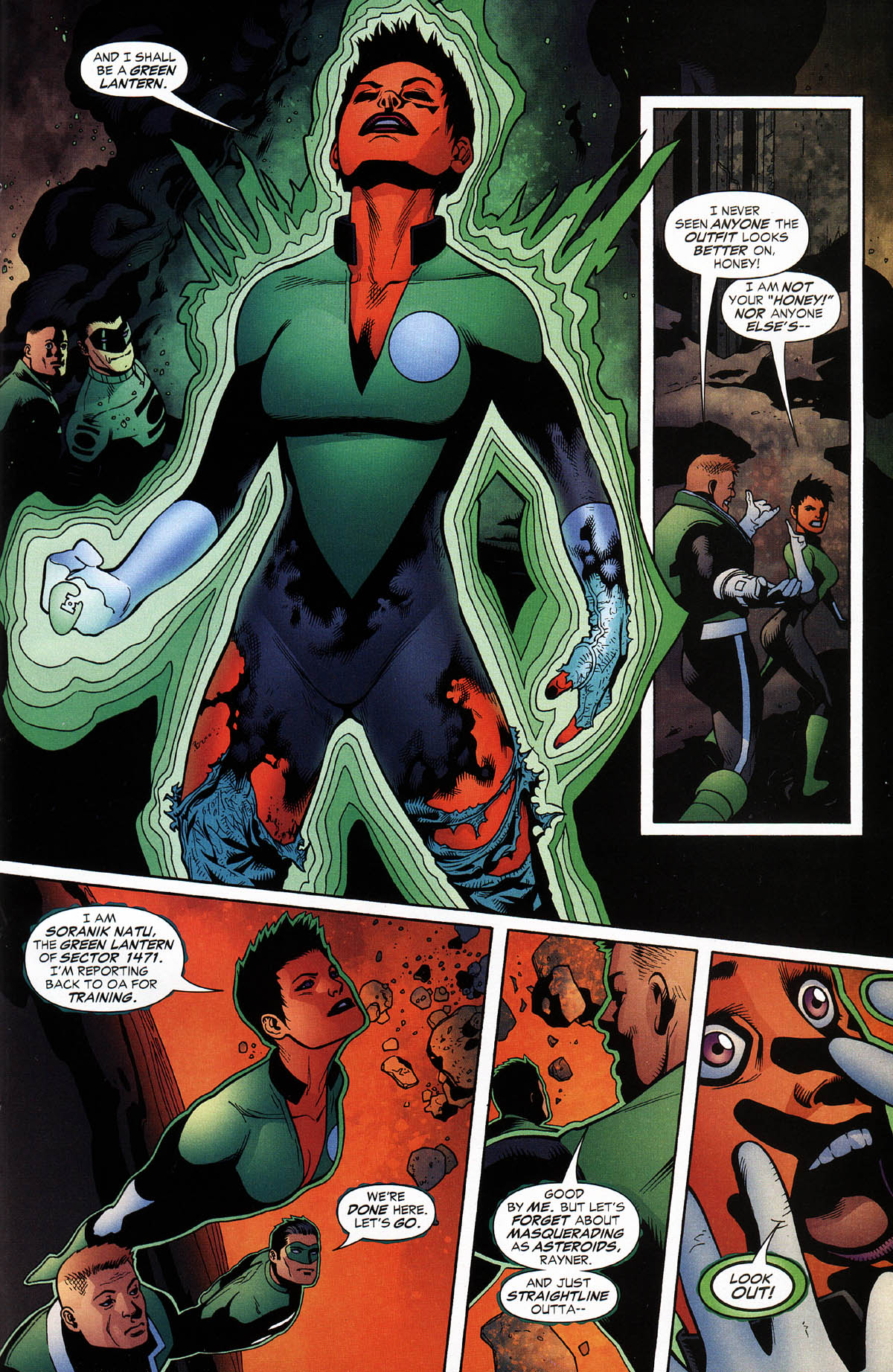 Read online Green Lantern Corps: Recharge comic -  Issue #3 - 16