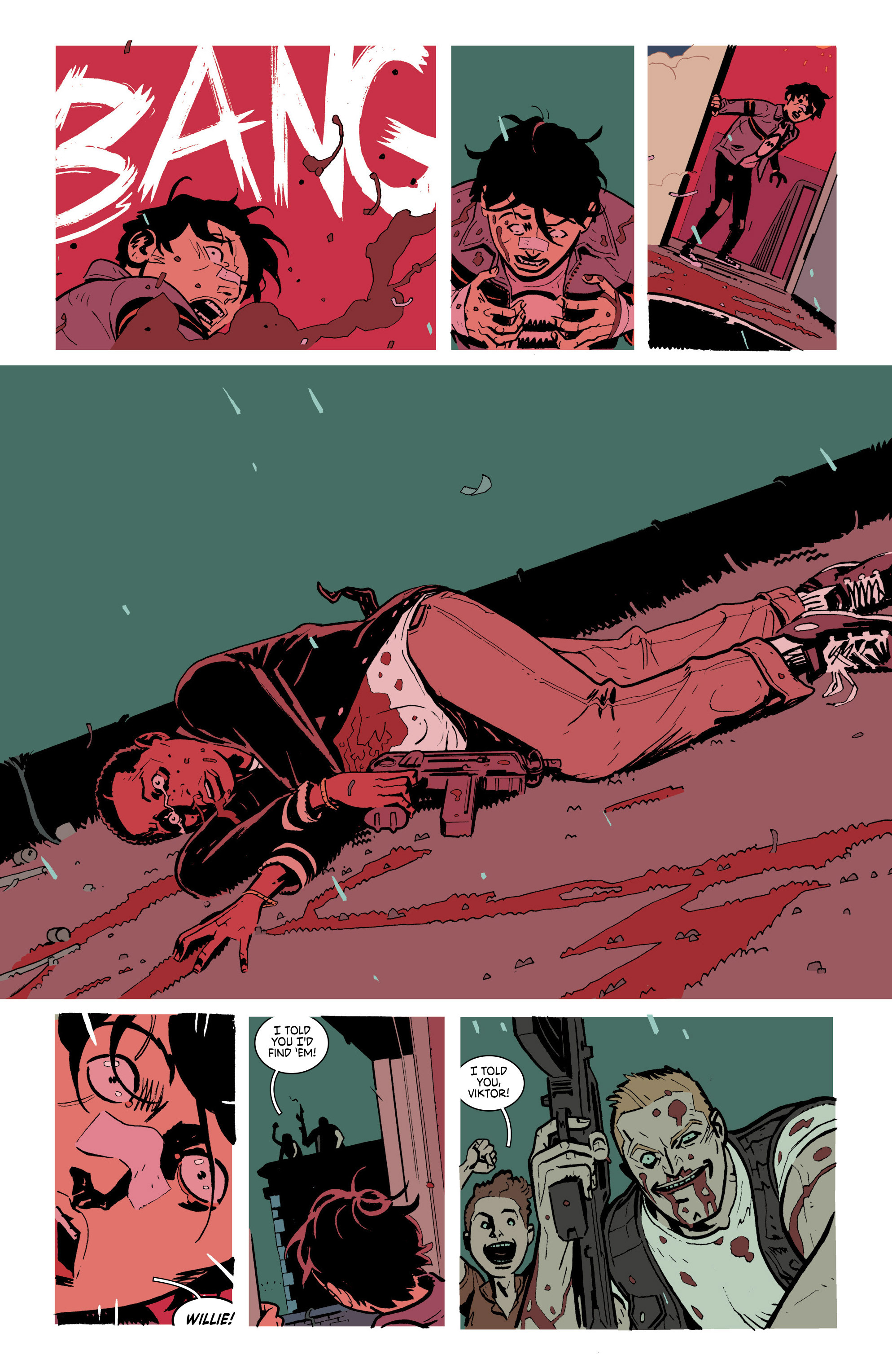 Read online Deadly Class comic -  Issue #21 - 24