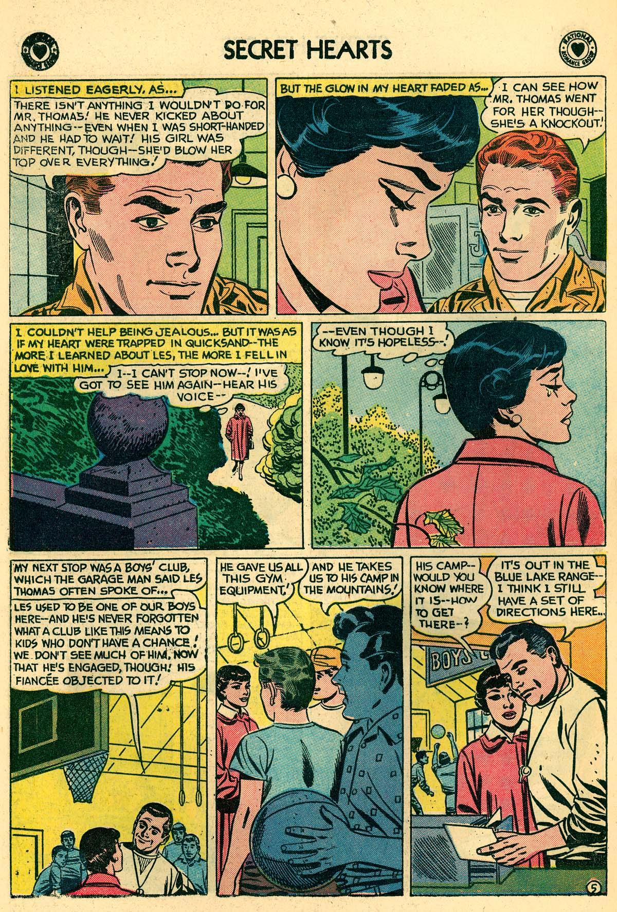 Read online Secret Hearts comic -  Issue #59 - 14